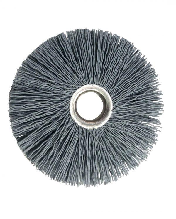 schuurnylon borstel 80mm voor pelletkachel haspel