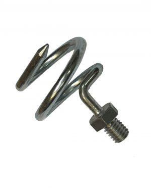 Spiraal voor stokkenveger zwart