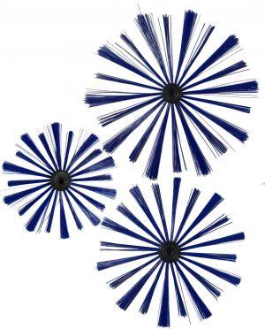 Kanaalborstels ronde uitvoering met M12 aansluiting
