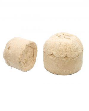 Katoenen lappenschijf met ronde kop CCT